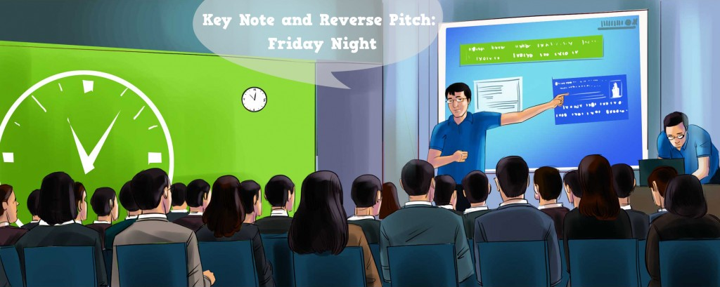 Key Note and Reverse Pitch: Friday Night