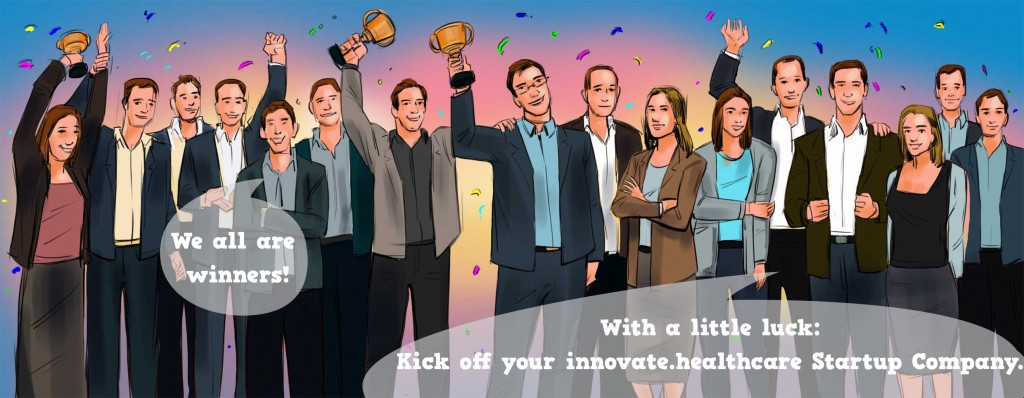 With a little luck: Kickoff your innovate.healthcare startup Company